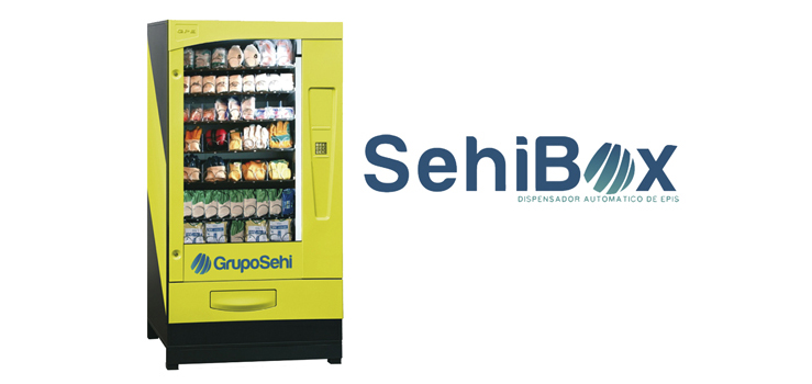 Sehibox, dispensador automático de EPIS
